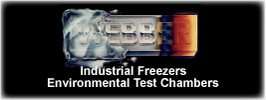 Industrial Freezers Environmental Test Chambers