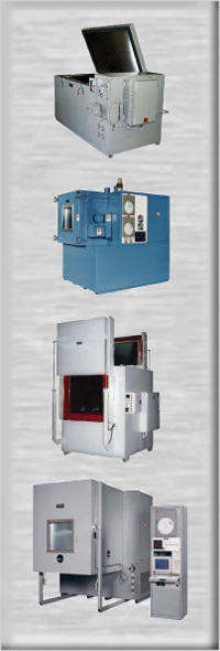 pictures of industrial freezers and environmental test chambers