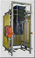 picture of a automated can stacker